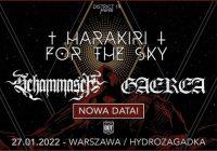 Harakiri For The Sky, Schammasch, Gaerea w Warszawie
