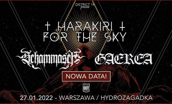 Harakiri For The Sky, Schammasch, Gaerea nowa data