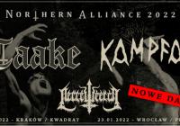 Taake, Kampfar, Necrowretch w Krakowie