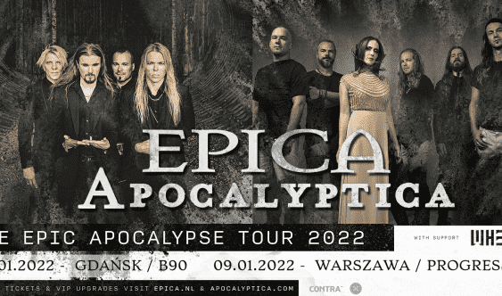 Epica, Apocalyptica koncerty 2022