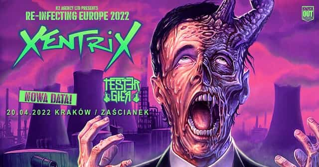 Koncert Xentrix nowa data 2022