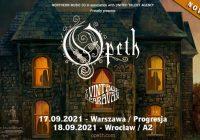 Opeth w Polsce: Koncerty przeniesione na wrzesień 2021