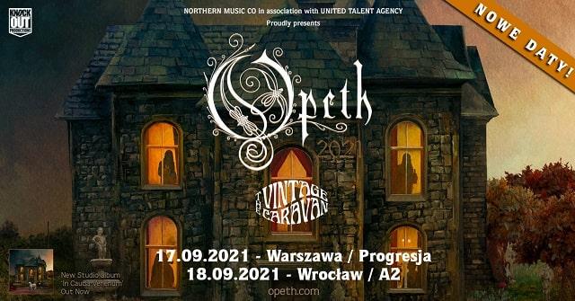 Opeth nowe daty