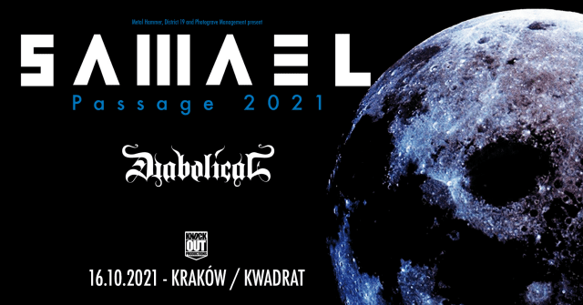 Samael, Diabolical, Koncert Kraków