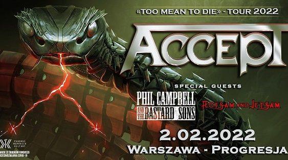 Accept Koncert Warszawa