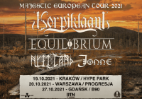 Korpiklaani i Equilibrium na trzech koncertach w Polsce