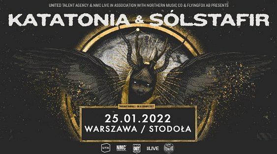Katatonia, Solstafir, Warszawa 2022