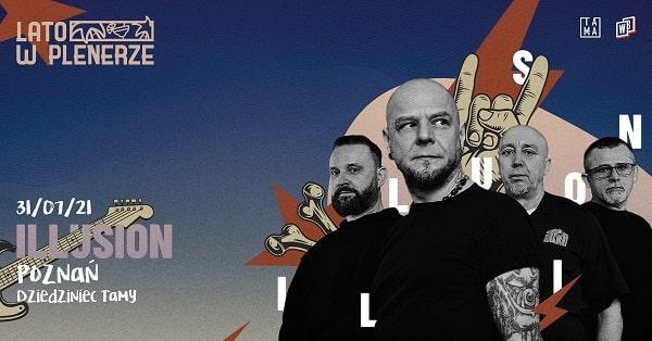 Illusion, koncert - Poznań