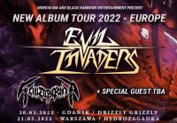 Evil Invaders na dwóch koncertach w Polsce