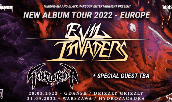 Koncert Evil Invaders 2022