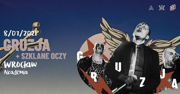 Koncert Gruzja, Szklane Oczy - Wrocław