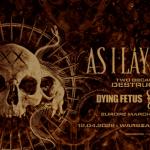 As I Lay Dying, koncert Warszawa