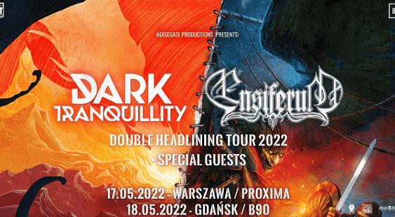 Dark Tranquility, Ensiferum - koncerty Polska