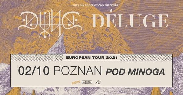 Dvne, Deluge, koncert - Poznań