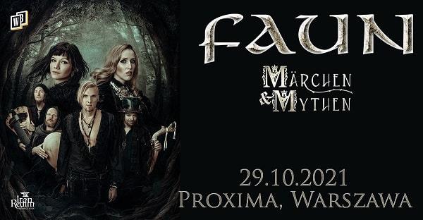 Faun koncert Warszawa