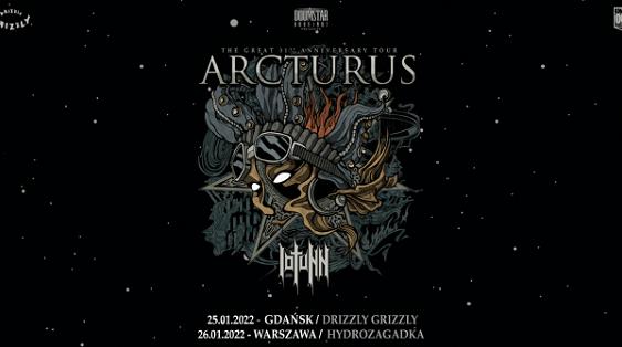 Arcturus, Iotunn - koncert polska