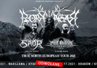 Koncerty Borknagar w Polsce zostały odwołane
