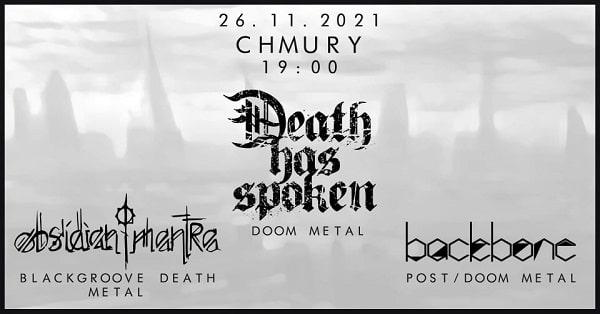 Death Has Spoken - koncert Warszawa