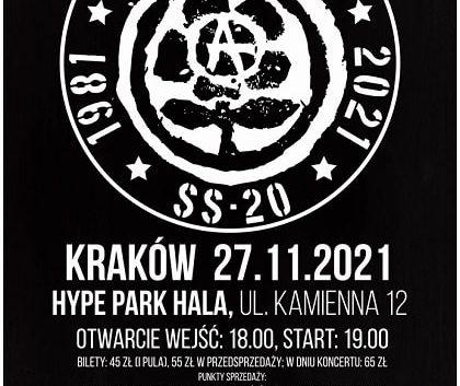 Dezerter, 40 lecie - Kraków
