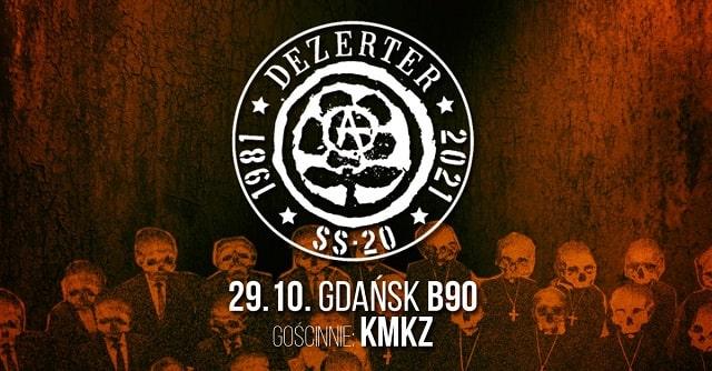 Dezerter - koncert gdańśk