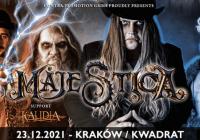 Włoska Kalidia zagra jako support na grudniowym koncercie Majestica