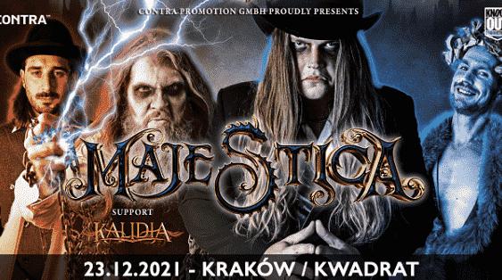 Majestica, Kalidia - koncert kraków