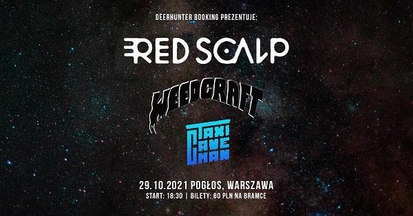 Red Scalp - koncert Warszawa Pogłos