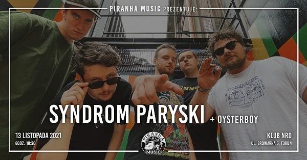 Syndrom Paryski, Osterboy - koncert Toruń